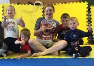 Artemis BJJ instructor kids class Brazilian jiu jitsu Bristol instructors photo