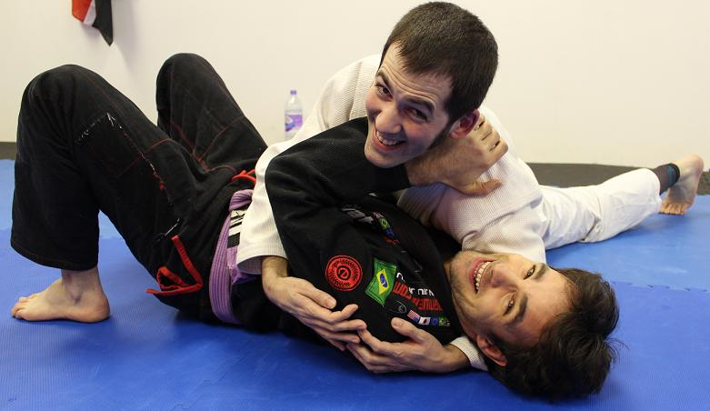 BJJ Bristol Artemis Brazilian Jiu Jitsu - Maintaining Side Control