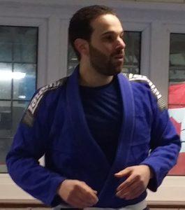 Federico judo black belt Artemis BJJ instructor Bristol Brazilian jiu jitsu