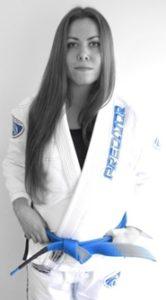 Lisa instructor pic Artemis BJJ womens class