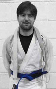 Matt J BJJ instructor pic Artemis BJJ Bristol Brazilian Jiu Jitsu