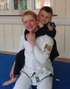 Tracey instructor pic for Artemis BJJ Kids Brazilian Jiu Jitsu