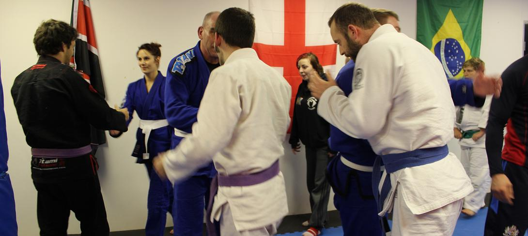 BJJ Bristol Artemis Brazilian Jiu Jitsu - End of Class