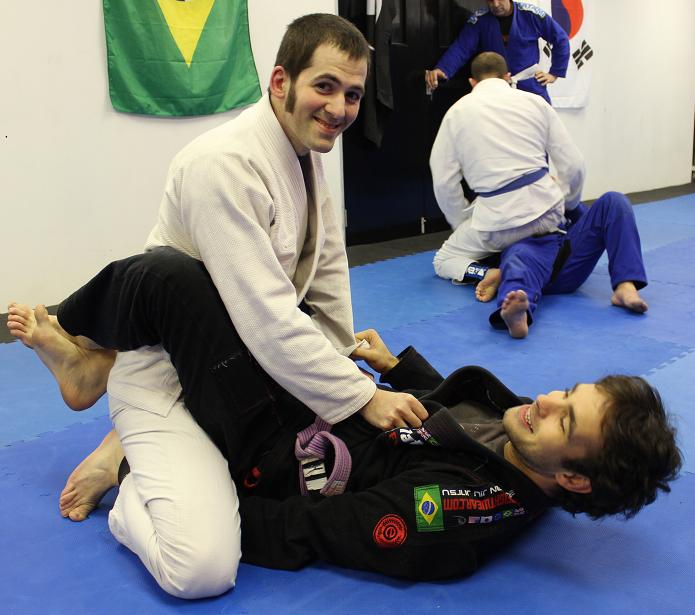 BJJ Bristol Artemis Brazilian Jiu Jitsu - Closed Guard