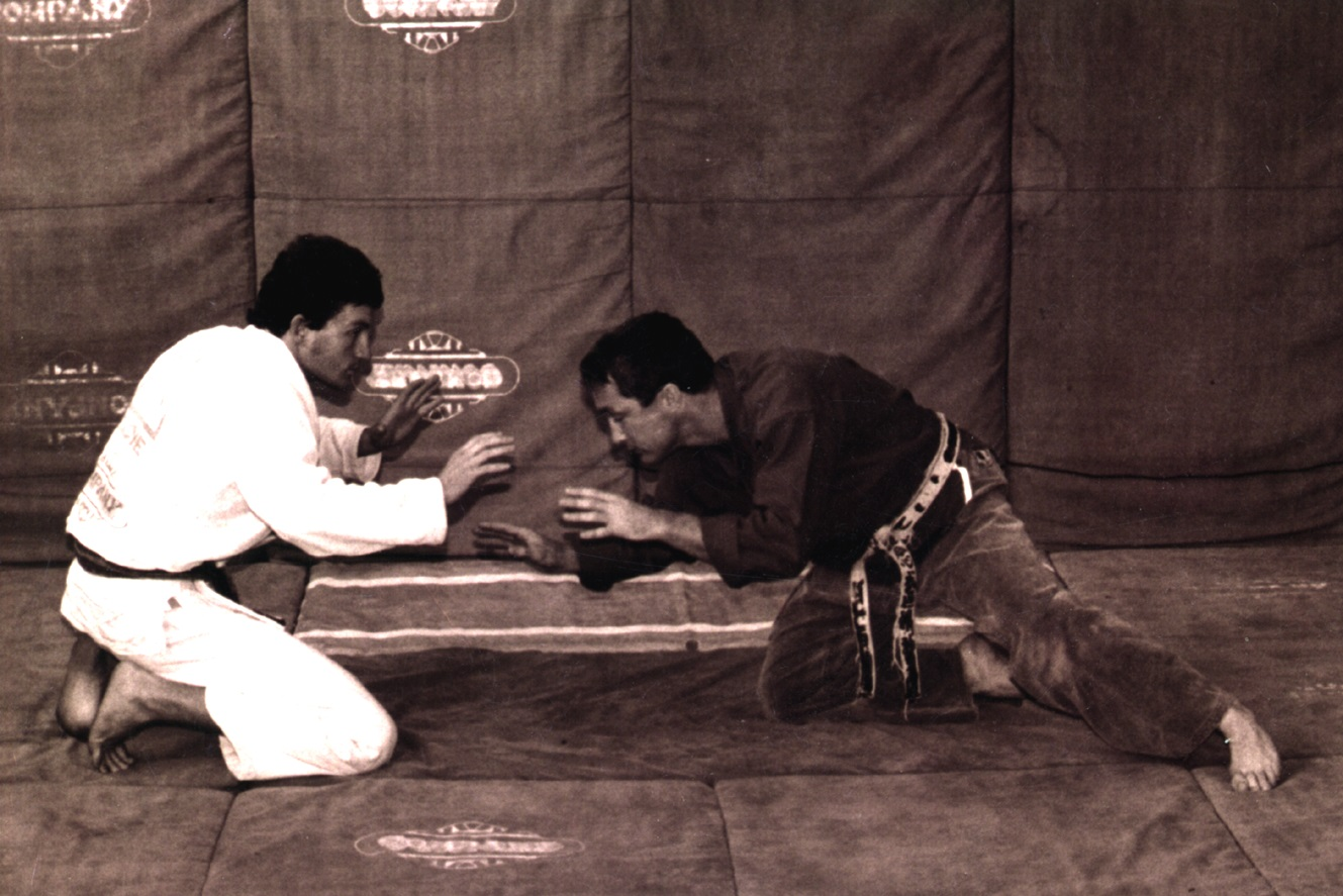 Artemis BJJ Brazilian Jiu Jitsu Bristol interview with John Will, shown with Rilion in 1987