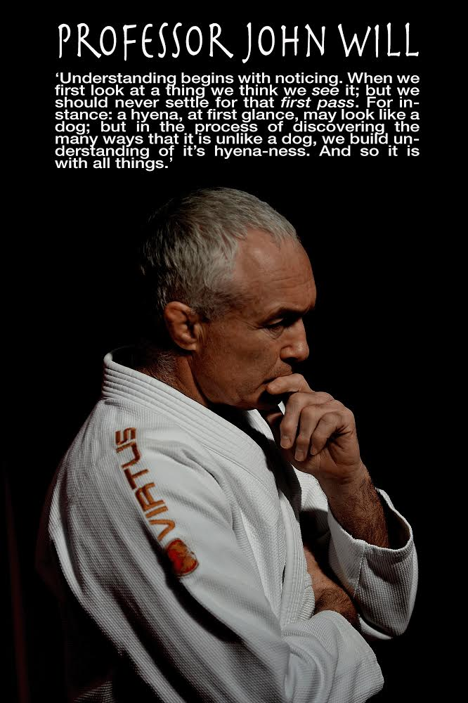 Artemis BJJ Brazilian Jiu Jitsu Bristol interview with John Will, on 'noticing'