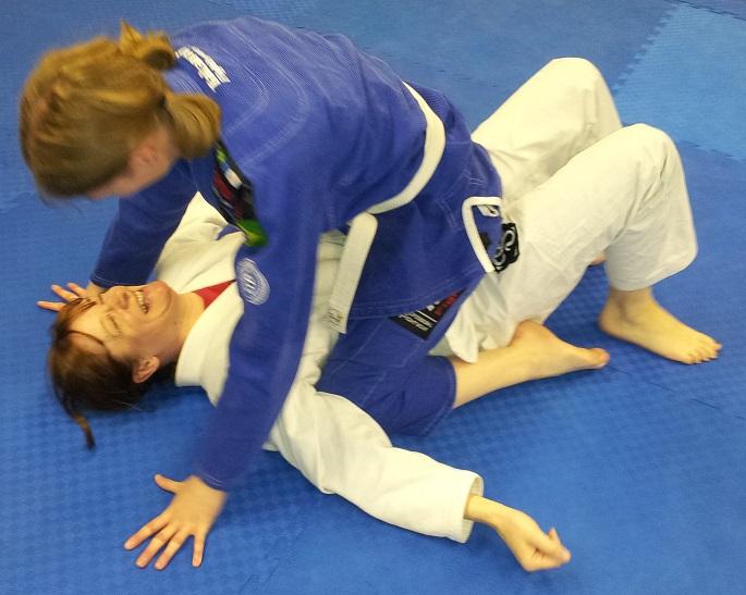 Artemis BJJ Bristol Brazilian Jiu Jitsu Mount position women's class