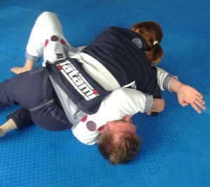 Artemis BJJ Tracey and Paul back injury adapt1