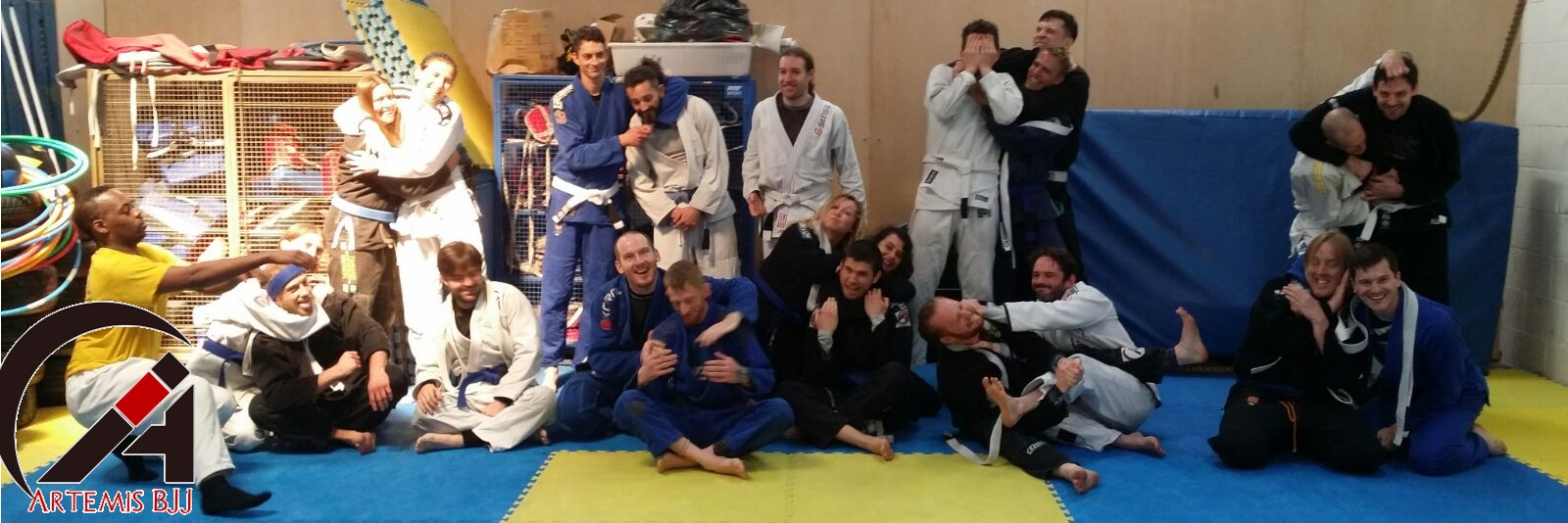Grading Seminar with Kev Capel at Artemis BJJ Bristol Brazilian Jiu Jitsu group