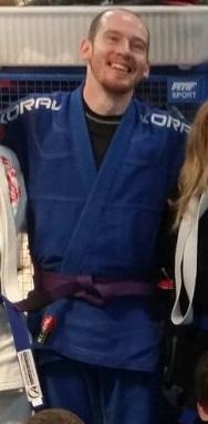 Chris BJJ instructor pic Artemis BJJ Bristol Brazilian Jiu Jitsu