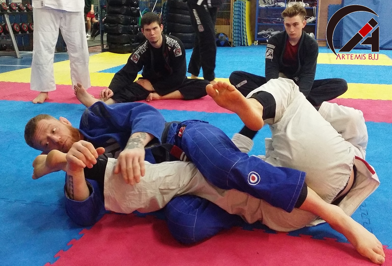 Grading Seminar with Kev Capel at Artemis BJJ Bristol Brazilian Jiu Jitsu kneebar