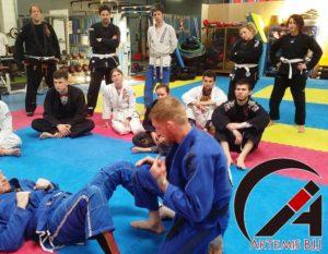 Artemis BJJ Brazilian jiu jitsu seminar with Kev Capel
