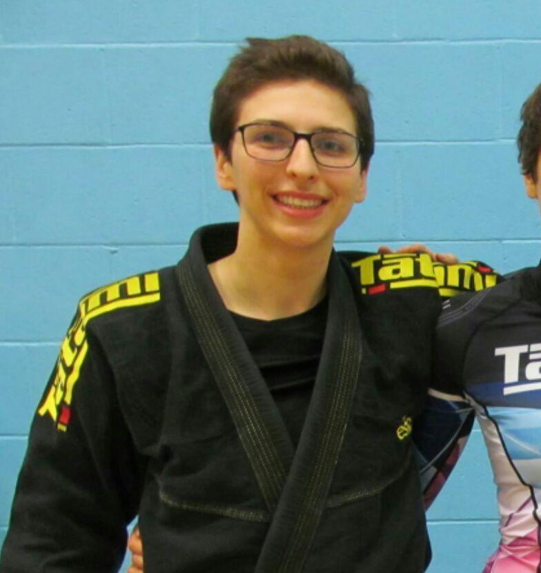 Kirsty W BJJ instructor pic Artemis BJJ Brazilian Jiu Jitsu Bristol