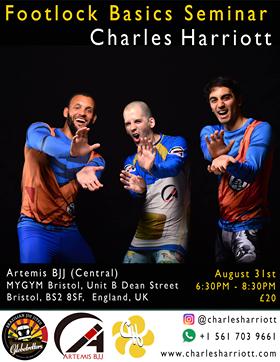 Artemis BJJ Brazilian Jiu Jitsu Bristol Charles Harriott