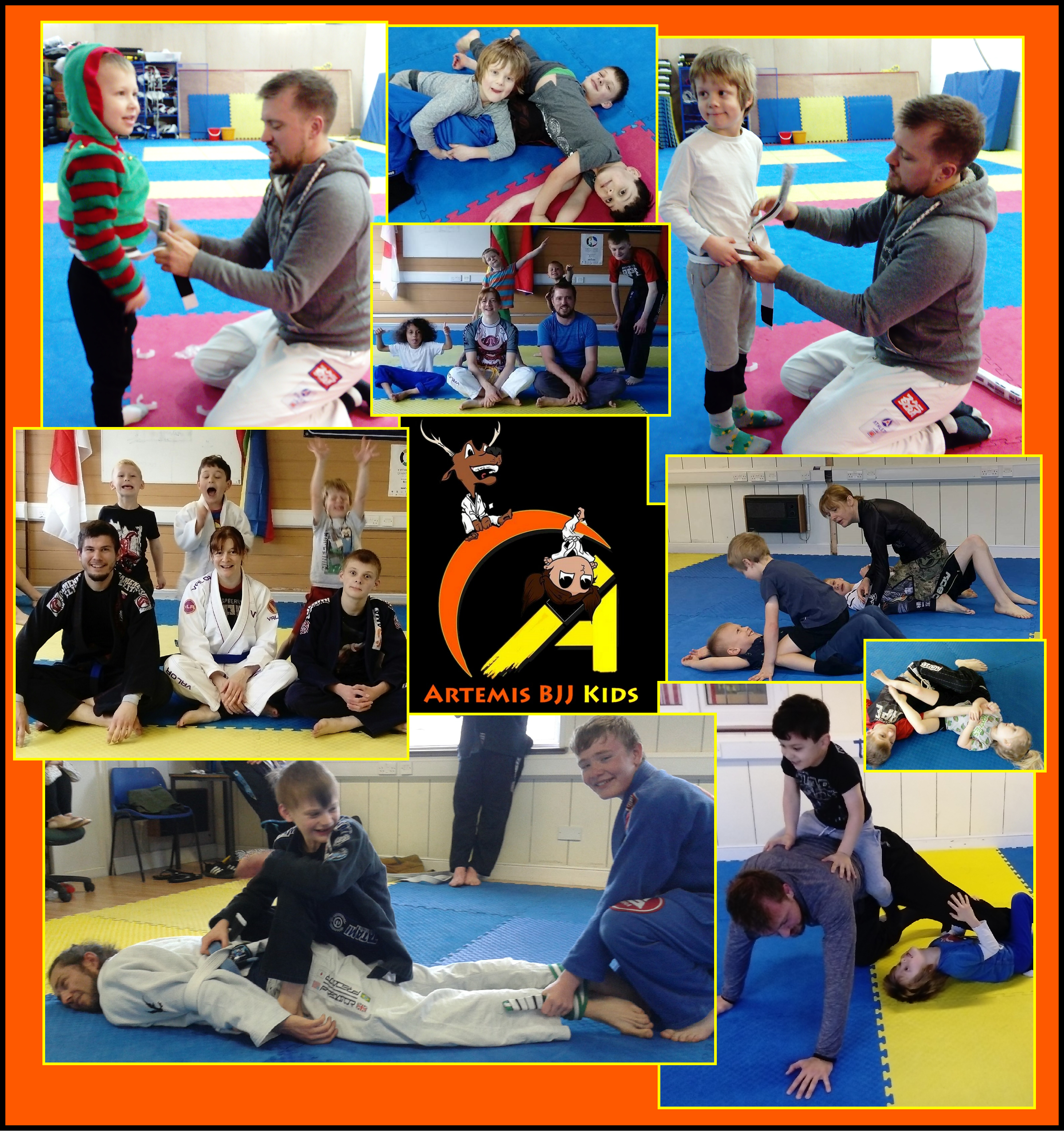 Artemis BJJ kids Brazilian jiu jitsu Bristol children martial arts