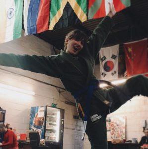 Jade at Artemis BJJ Brazilian jiu jitsu Bristol