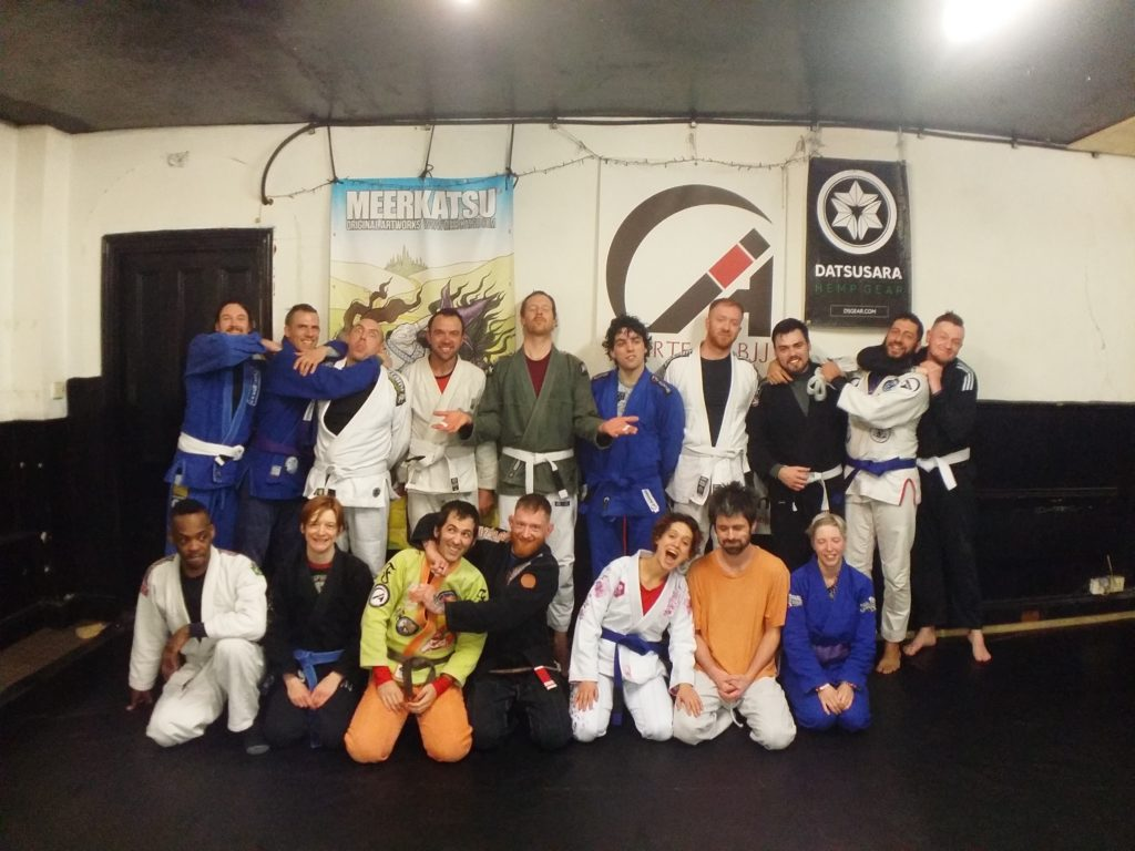 5th Grading Seminar (Dec 2019) with Kev Capel at Artemis BJJ Bristol Brazilian Jiu Jitsu group