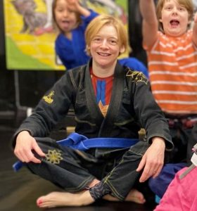 Tracey instructor BJJ brazilian jiu jitsu Bristol